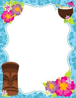 Las 25 mejores ideas sobre invitaciones hawaianas en for Pegatinas de pared infantiles