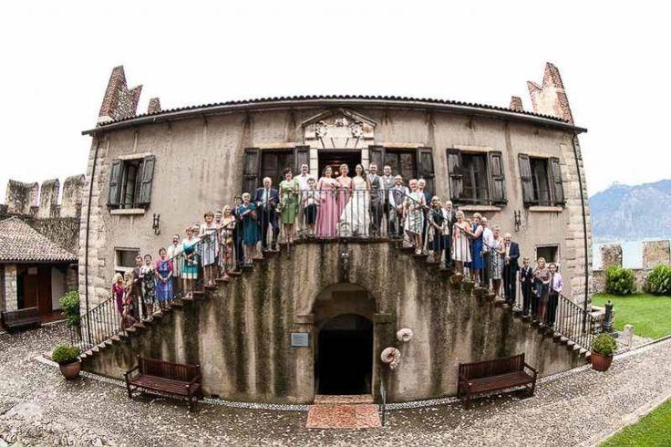 Romantic Weddings on Lake Garda | Wedding planners for the most romantic Lake Garda weddings in Italy. La Casermetta, Malcesine Castle