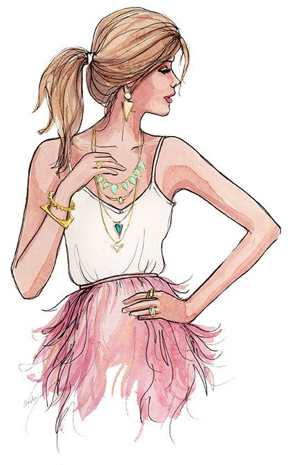 The Sketch Book – Inslee Haynes | Fashion Illustration by Inslee | Page 12: