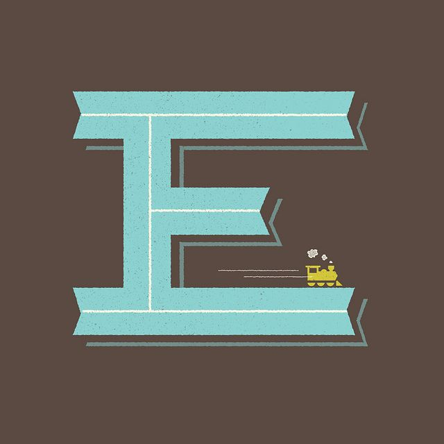 E is for Engine. by Wallace Design House, via Flickr