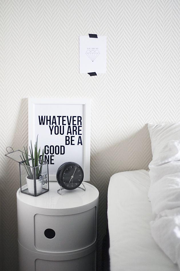 Via Noe På Hjertet | Kartell Componibili | White | Bedroom