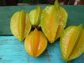 Star Fruit, also known as Carambola