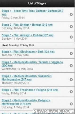 Giro D'Italia 2016  Android App - playslack.com ,  Fietsen app: 3 Grote Rondes - etappeprofielen. Informatie over de fasen van de 3 Grand Tour: Giro d'Italia 2016 (Ronde van Italië 2016), Tour de France 2016 (Ronde van Frankrijk 2016) en Vuelta a España 2016 (Ronde van Spanje 2016). De meest volledige informatie over de 3 Grand Tour: Giro d'Italia 2016, Tour de France 2016, Vuelta a España 2016 en meer (Ronde van Italië 2016, Ronde van Frankrijk 2016, Ronde van Spanje 2016 en meer).Nu met…