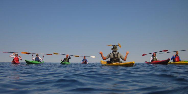Kayak meditation!
