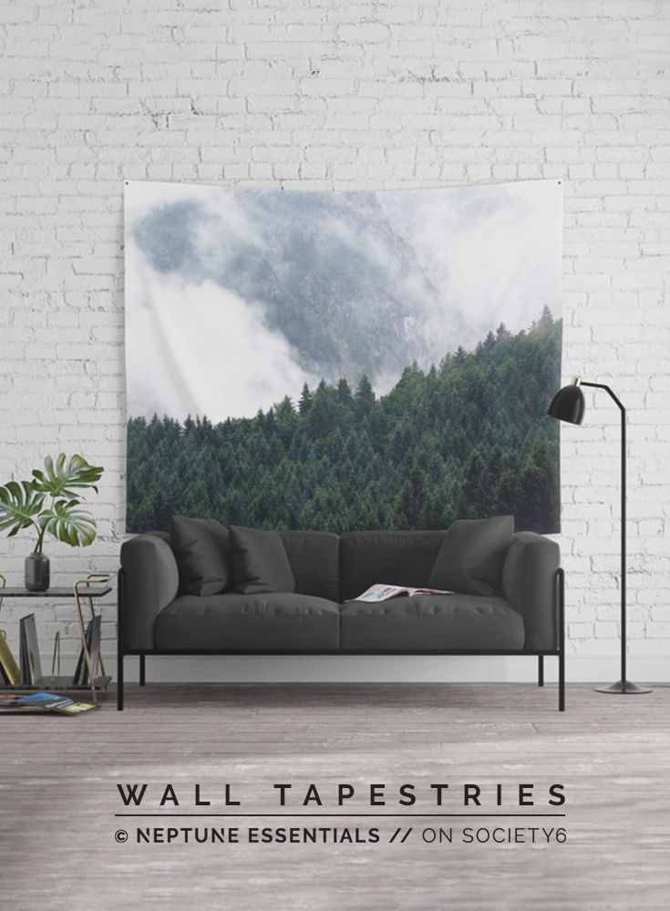 The Clearest Way Wall Tapestry    Available in three distinct sizes, our Wall Tapestries are made of 100% lightweight polyester with hand-sewn finished edges. Featuring vivid colors and crisp lines, these highly unique and versatile tapestries are durable