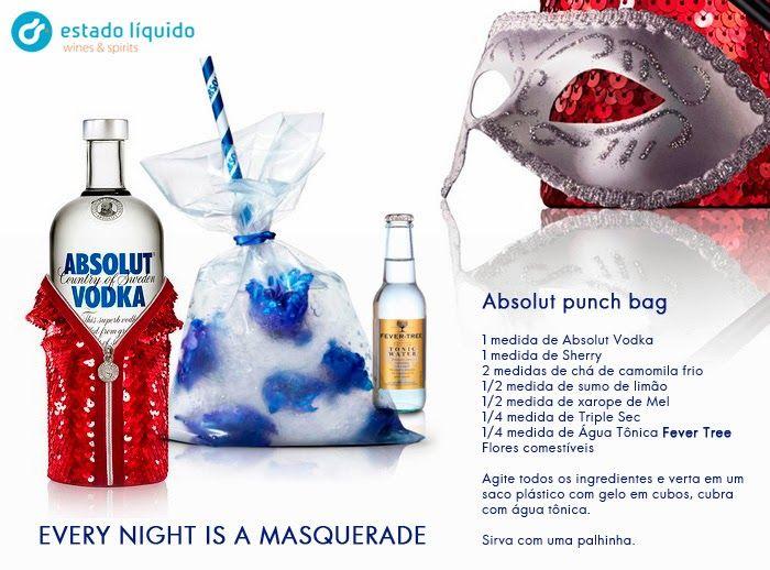 Garrafeira - Estado Líquido: Como fazer um saco de Vodka