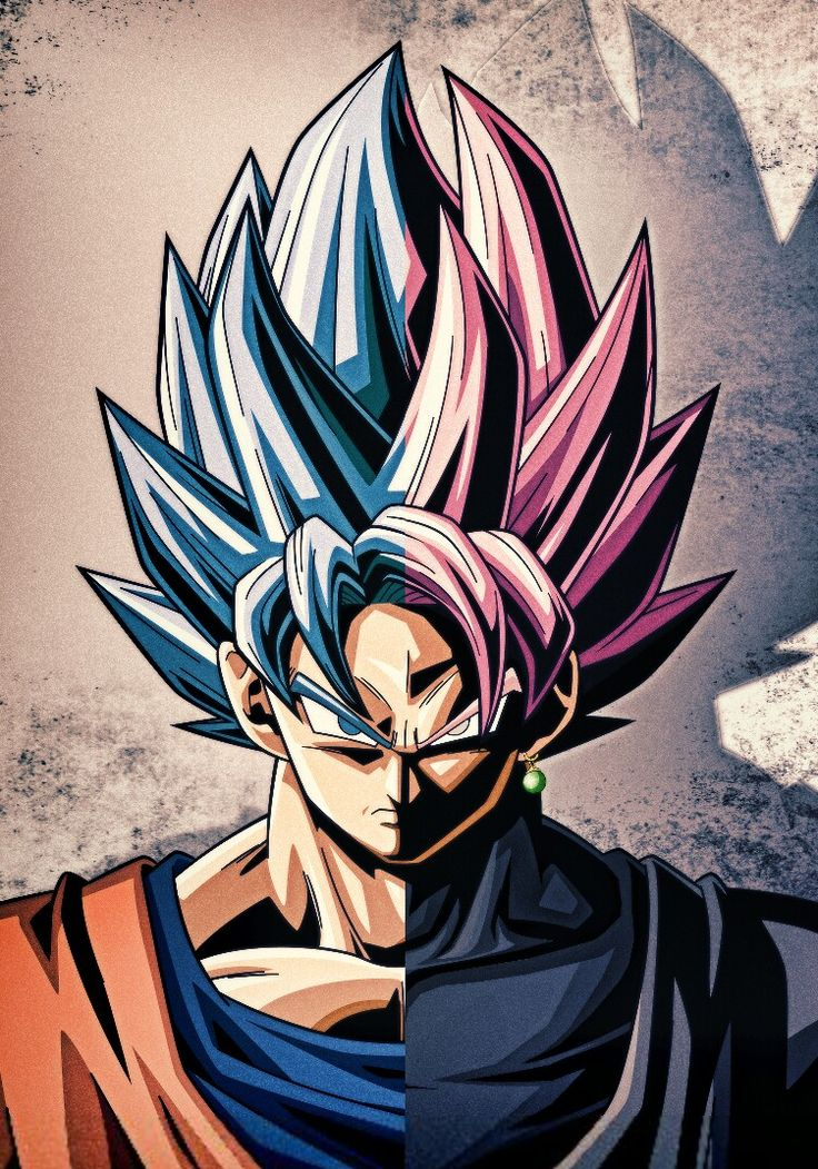 Goku/Black ssgss b/r by mr. Shoryuken