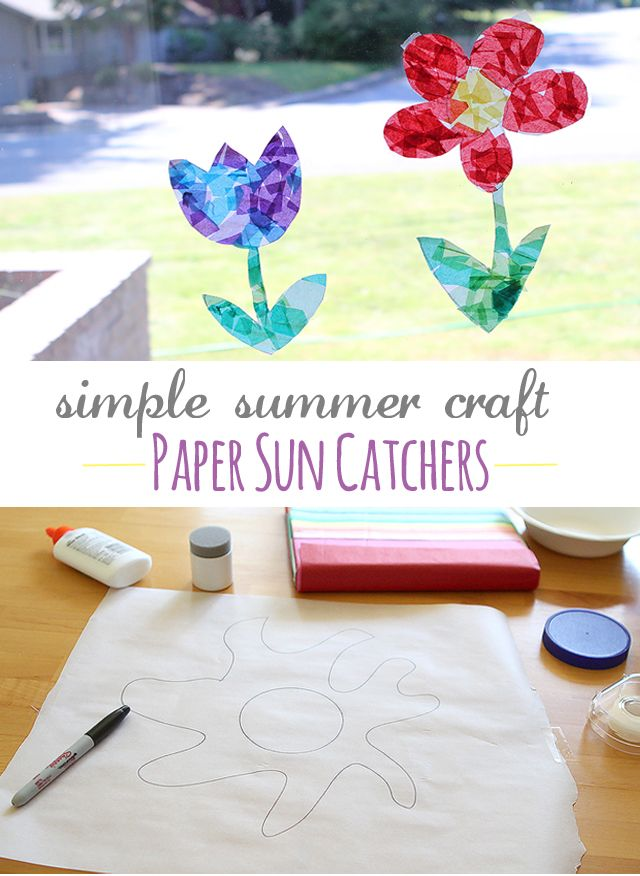 My kids favorite summertime art activity