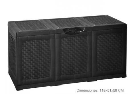 Kussenopbergbox (380 liter) bestel je online bij Formido, de voordelige bouwmarkt