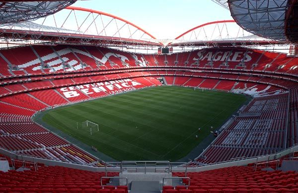 Someday I will travel to the Estadio da Luz to watch Benfica play.