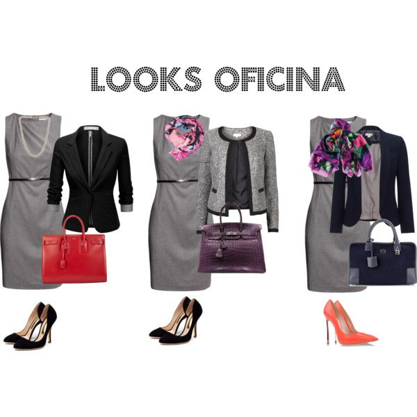 """""""Looks Oficina"""" by fiorella-garcia-pacheco-morzan on Polyvore"""
