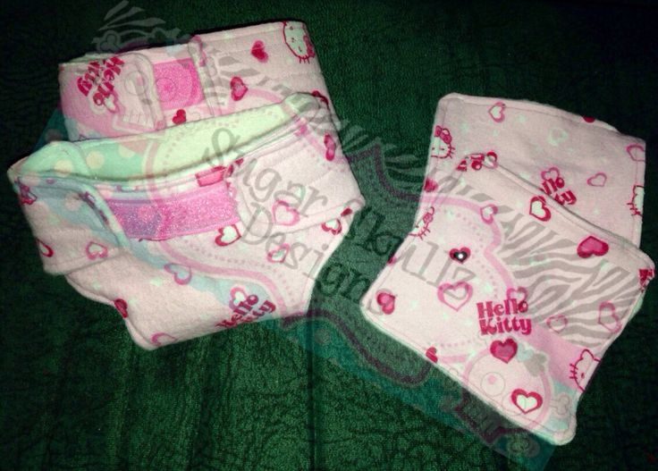 Baby doll diapers and wipes!