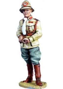 WW 084 OFFICER 66 TH ERITREAN COLONIAL BN ITALIAN ARMY