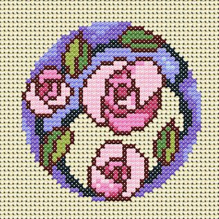 Maria Diaz Designs: Exclusive cross stitch designs, cross stitch charts  cross stitch books  free chart for July 2014 only.