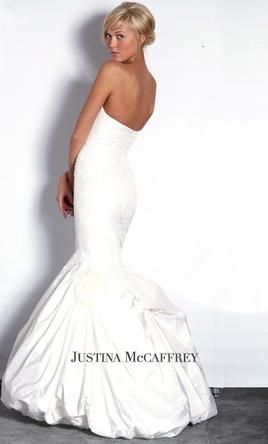 Used Justina McCaffrey Wedding Dress Waltz, Size 6  | Get a designer gown for (much!) less on PreOwnedWeddingDresses.com