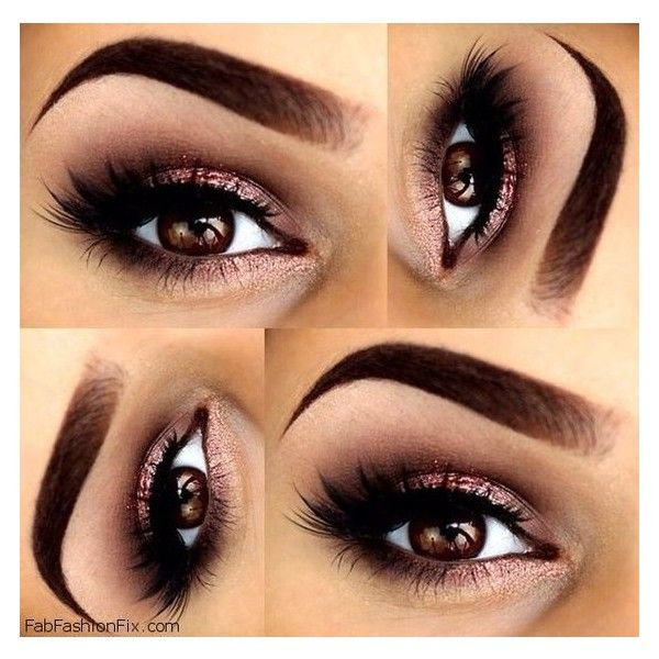 Makeup How to do classic smokey eye makeup look tutorial? ❤ liked on Polyvore featuring beauty products, makeup, eye makeup, eyes and beauty