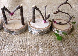 Flipping cool wedding idea - wonder how the S stays put. Hmmm...