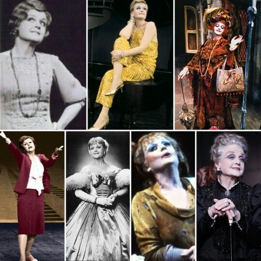 Angela Lansbury: Cora Hoover Hooper-Anyone Can Whistle, Mame Dennis-Mame, Countess Aurelia-Dear World, Mama Rose-Gypsy, Anna Leonowens-The King and I, Mrs. Lovett-Sweeney Todd, Madame Armfeldt-A Little Night Music