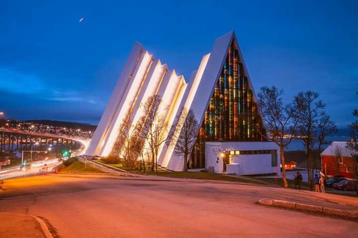 In Tromsø Arctic Cathedral