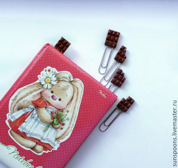 Купить Скрепки-закладки для книг - комбинированный, скрепки, закладка для книг, планинг, что подарить