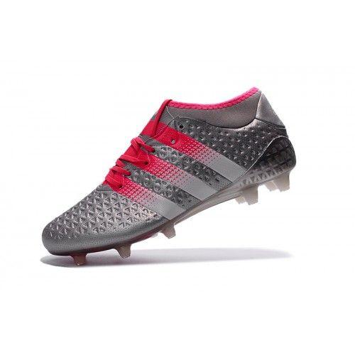 Adidas ACE - футбольныебутсы Adidas Ace 2016 Etch Pack FG серый розовый магазин