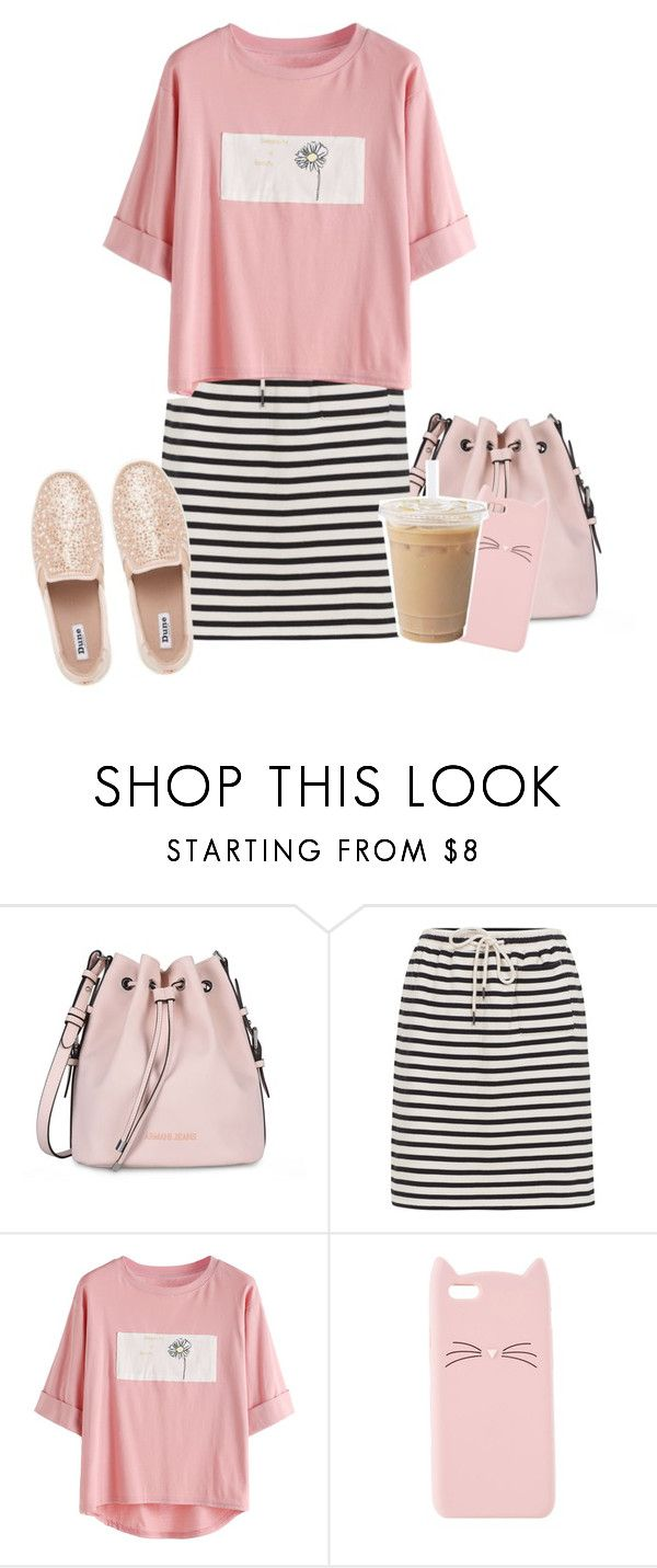 """""""it's a great day"""" by emily-princess ❤ liked on Polyvore featuring Armani Jeans, Charlotte Russe and Dune"""