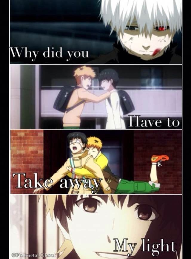anime cosplay quotes: Tokyo Ghoul Quote