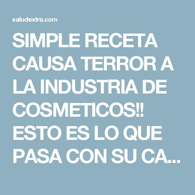 SIMPLE RECETA CAUSA TERROR A LA INDUSTRIA DE COSMETICOS!! ESTO ES LO QUE PASA CON SU CARA DESPUES DE LAVARLA CON ACEITE DE COCO Y BICARBONATO DE SODIO!