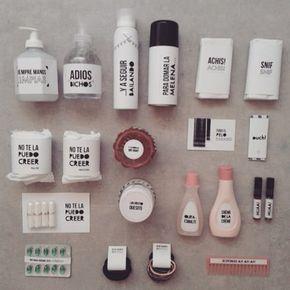 Un kit de baño bien completo  Para  mas info: whiskyeventos@gmail.com #kitdebaño…