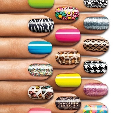 nail polish stickers-Got these for my Bday they are awesome!