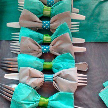Servilletas Baby Shower niños decoración