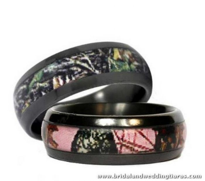 Camo Engagement Rings Sets