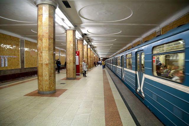 Транспортный блог Saroavto: Москва: На Сокольнической линии запустили восьмива...