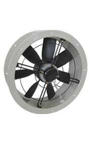 AXIAL FANS - Flat profiled axial fans - ER-DR    Narrow profile axial fans    External rotor motor protected through thermal contact  0-100% regulable speed through electronic controller or transformer    Balanced according DIN1940    Oversized ball bearings, lubricated for life  Low noise level  With tubular casing for installation in ducts    Some three phase models are available in EX anti-explosion execution    Three phase models available with 2 speed motors  www.airtecnics.com