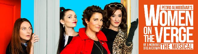 Play: Women on the Verge of a Nervous Breakdown - The Playhouse theatre, London - running until 9th May 2015