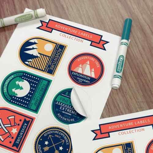 Imprime en linea tus stickers y recíbelos en la puerta de tu casa www.printu.co 20 unidades desde $12.950 COP
