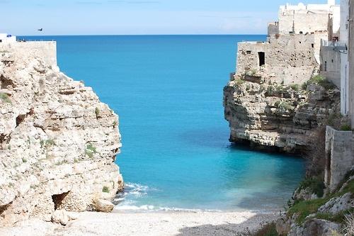 Veduta della Scogliera   Polignano a Mare, Bari, Apulia, Italy