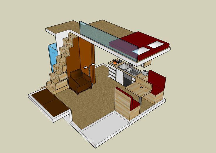 Architectural home plans » vacation home loft plans lowes ...