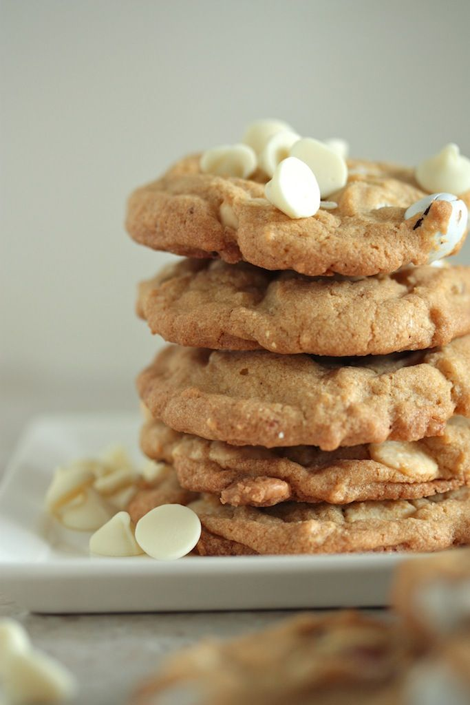 Coconut, M & Ms and White Chocolate Chip Cookies