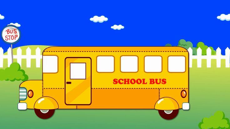 l'autobus scolaire   un dessin animé pour les enfants   School Bus #schoolbus #kidsvideo #childrenvideo #babyvideo #parenting #educational #entertainment