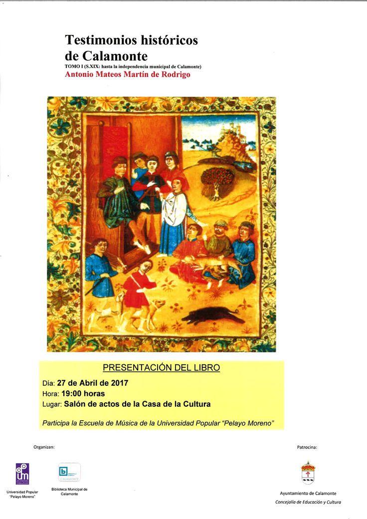 Testimonios historicos de Calamonte