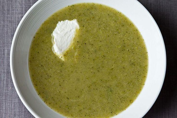 Broccoli Apple Soup recipe on Food52