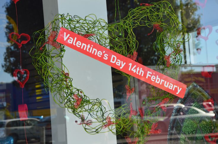 Valentines 2015 Window Display