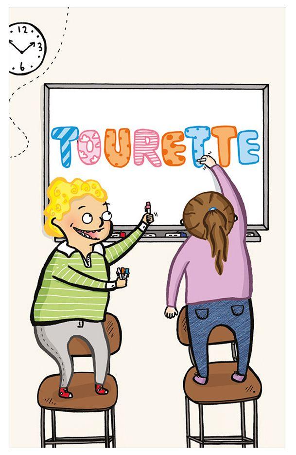 Om Tourette för barn - finns som pdf eller som broschyr att beställa.