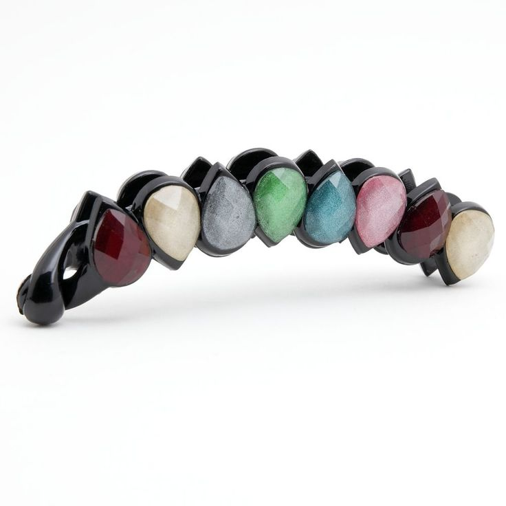 Formica Diamond Drop Two color Banana hair clip accessories #VeryShine #Clips #bananaclip #hairclip