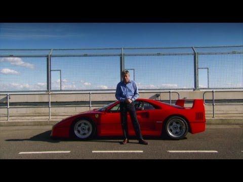 SUPERCAR: FERRARI F40 - Fifth Gear