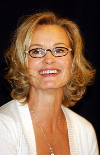 Jessica Lange. She just gets more beautiful!   LOVED HER IN FREAK SHOW LAST NIGHT!