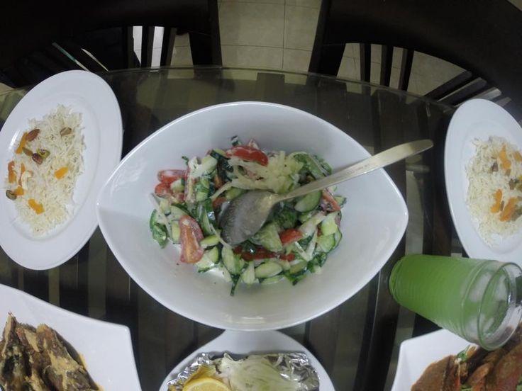 Raita (Indian Yogurt Salad)