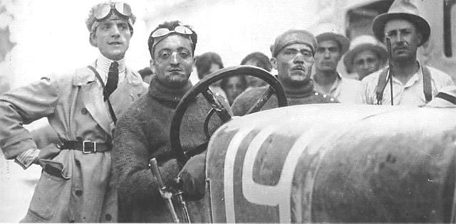 2.) Enzo had poor luck in later years; having to leave the army after becoming very ill and having his application to work at Fiat, the Italian car manufacturer, rejected. He later on found work at a now closed down car manufacturer named CMN. Enzo began racing competitively in 1919 and after a small success in the Targa Florio race he managed to get a job with Alfa Romeo where his success as racing driver only grew.