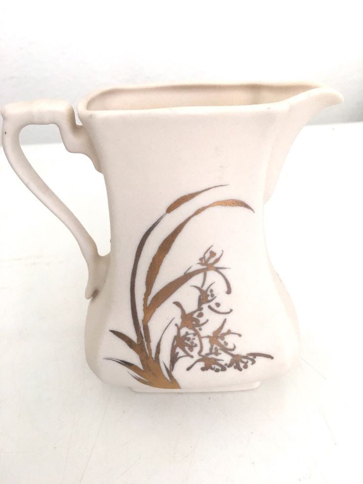 A personal favorite from my Etsy shop https://www.etsy.com/listing/288445529/ceramic-pitcher-creamer-eggshell-color